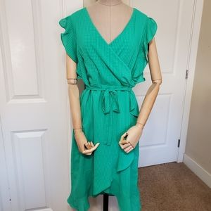 NWT A New Day Kelly Green Dress